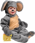 Baby Grey Mouse Costume