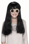 Child's Long Black Wig