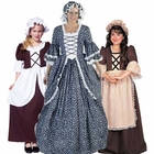 Colonial Woman Costumes