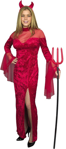 Red Devil Dress Costume