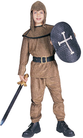 Child's Gold King Arthur Costume