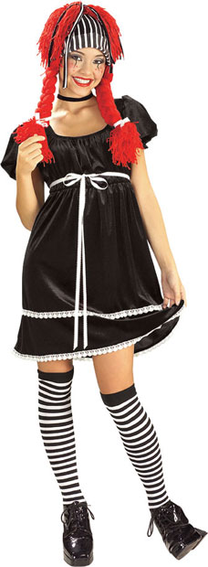 Teen Wicked Rag Doll Costume