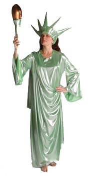 Adult Quality Statue of Liberty Costume