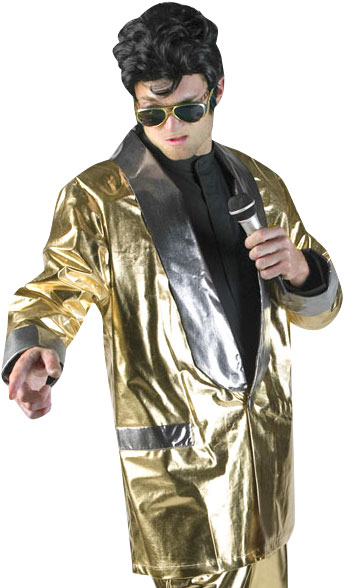 Gold Elvis Jacket Theater Costume