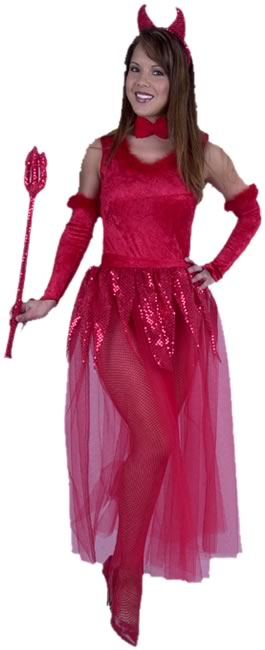 Adult Sheer Devil Costume