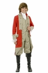 Child's British Red Coat Costume