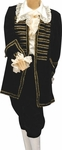 Black Victorian Era Boys Halloween Costume