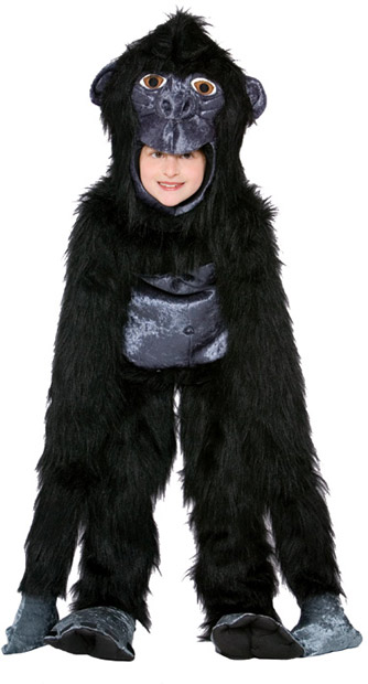 Child's Gorilla Suit Costume