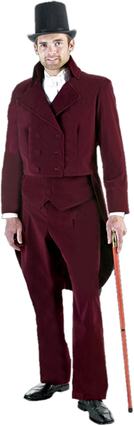Adult Dickens Man Costume