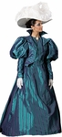 Downton Abbey Blue Dress Costume
