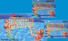 Splash Bomb 3 in 1 Swimming Pool Volley Ball