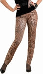 Woman's Leopard Peg Bundy Pants