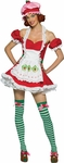 Adult Deluxe Strawberry Shortcake Costume