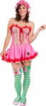 Adult Sexy Strawberry Shortcake Costume