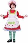 Deluxe Child's Strawberry Shortcake Costume Dress