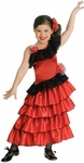 Girl's Spanish Dancer Costume