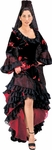Spanish Dancer Black Theater Costume