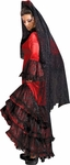 Spanish Dancer Red Theater Costume