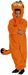 Child's Plush Garfield Costume