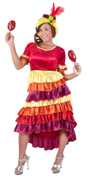 Adult Cha Cha Dancer Costume