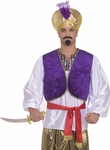 Adult Arabian Sultan Vest And Shirt Costume