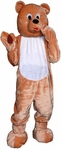 Loveable Teddy Bear Mascot Costume