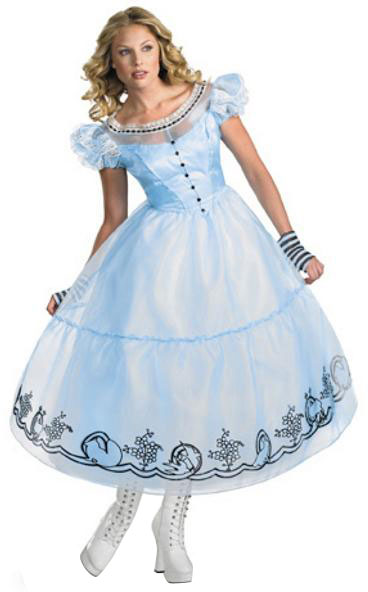 Deluxe Alice Adult Costume