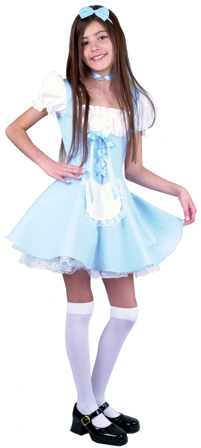 Child's Short Alice Costume