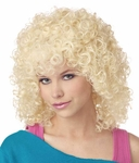 Women's Blonde Curly Sue Wig