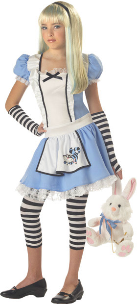 Preteen Alice In Wonderland Costume
