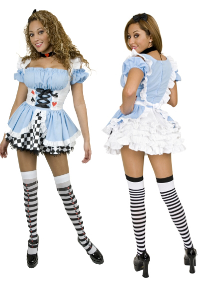 Sexy Fairy Tale Alice Costume