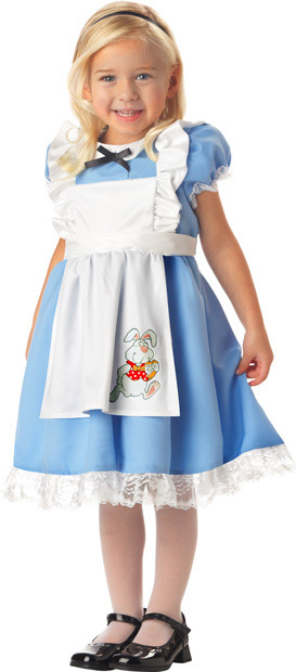 Child's Alice In Wonderland Costume