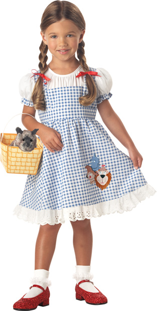 Toddler Wizard Of Oz Dorothy Costume