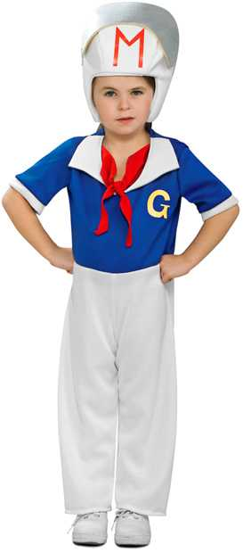 Child's Speed Racer Costume