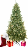 Prelit Mid Atlantic Fir Artificial Christmas Tree
