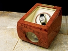 Burlwood Single Automatic Watch Winder Box