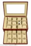 Watch Storage Box Case in Cherry