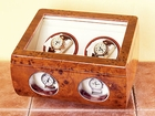 Steinhausen Burlwood Double Watch Winder
