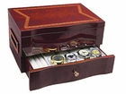 DAMAGED Wood Steinhausen Watch Storage Case