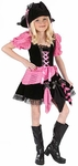 Child's Pink Punk Pirate Costume
