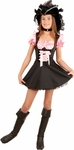 Preteen Pink Storybook Pirate Costume
