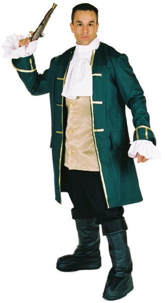 Prestige Pirate Captain Costume