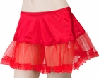 Women's Red Petticoat