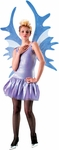 Adult Blue & Silver Fairy Costume Wings