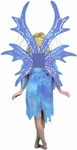 Adult Blue Fairy Costume Wings