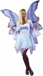 Blue & Silver Fairy Costume Wings