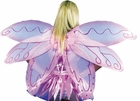 Pink & White Fairy Costume Wings