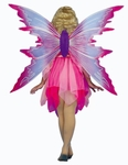 Adult Gossamer Pink Fairy Costume Wings