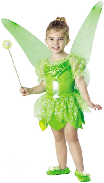 Toddler Tinkerbell Costume