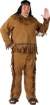 Plus Size Men's Native American Costume